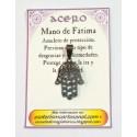 AMULETO ACERO - Mano de Fatima - 04