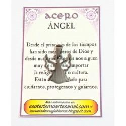 AMULETO ACERO - Angel