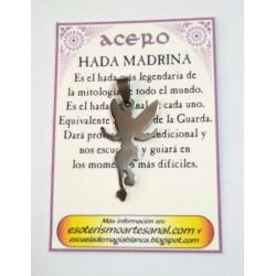AMULETO ACERO - Hada Madrina