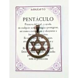 AMULETO ACERO - Pentáculo - 04