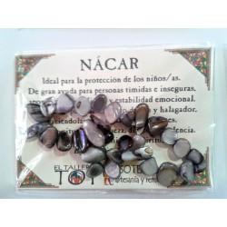 PULSERA chips - Nácar