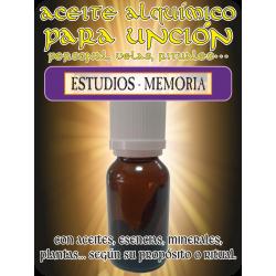Aceite Alquímico 10 ml. ESTUDIOS MEMORIA