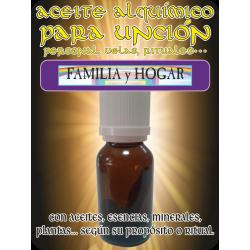 Aceite Alquímico 10 ml. FAMILIA y HOGAR