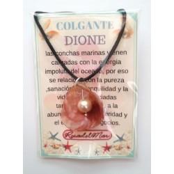 COLGANTE DIONE - CONCHA con PERLA - modelo 2