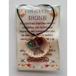 COLGANTE DIONE - CONCHA con PERLA - modelo 1