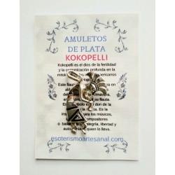 KOKOPELLI - Amuleto índio en plata