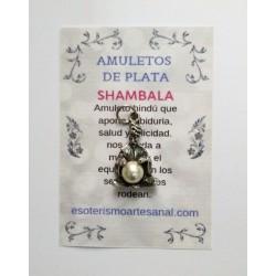 SHAMBALA - Amuleto en plata