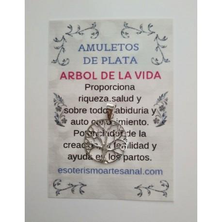 ARBOL DE LA VIDA - Amuleto en plata