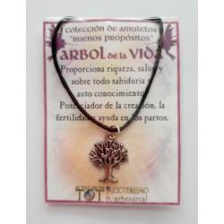 AMULETO BP - ÁRBOL de la VIDA - plateado 01
