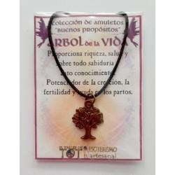 AMULETO BP - ÁRBOL de la VIDA - bronceado