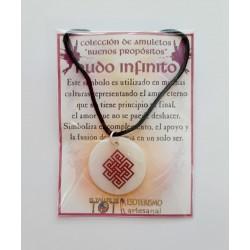 AMULETO BP - Nudo Infinito en Nácar