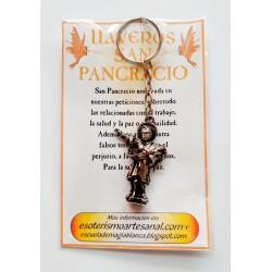 AMULETO BP - SAN PANCRACIO - Plateado - Llavero