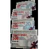 TARJETA REGALO de 50€, 20€, 10€ o 5€