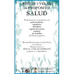 RITUAL 3 VELAS Universal -*- SALUD