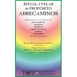 RITUAL 3 VELAS Universal -*- ABRE CAMINOS