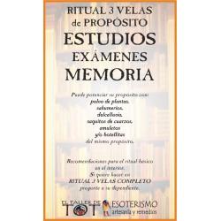 RITUAL 3 VELAS Universal -*- ESTUDIOS MEMORIA