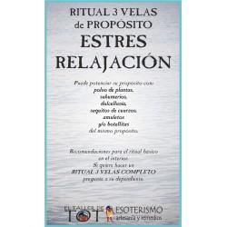 RITUAL 3 VELAS Universal -*- ESTRES RELAJACIÓN