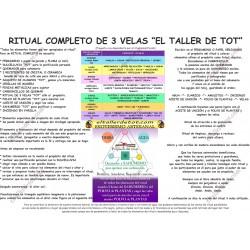 Cartel - Ritual de 3 Velas