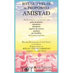 RITUAL 3 VELAS Universal -*- AMISTAD