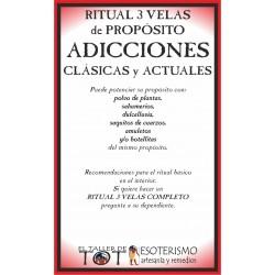 RITUAL 3 VELAS Universal -*- ADICCIONES