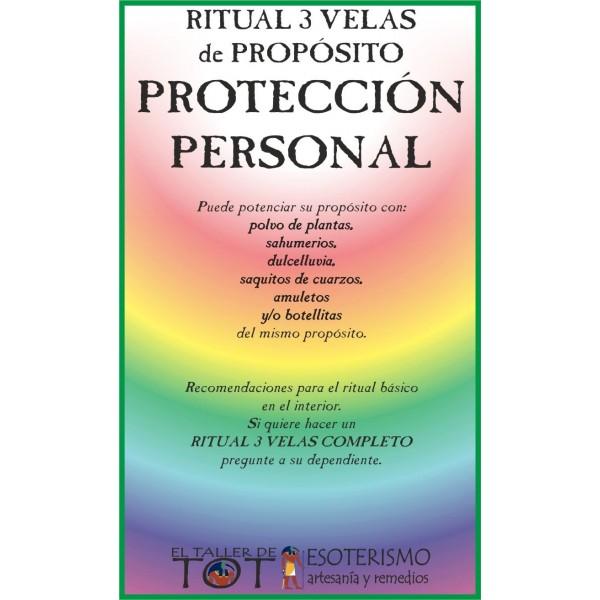 RITUAL 3 VELAS Universal -*- PROTECCIÓN PERSONAL
