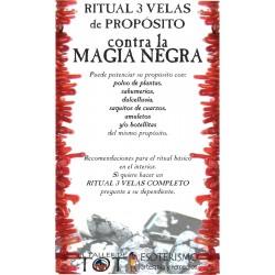 RITUAL 3 VELAS Universal -*- Contra la MAGIA NEGRA