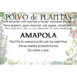 Polvo de Amapola