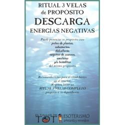 RITUAL 3 VELAS Universal -*- ENERGÍAS NEGATIVAS