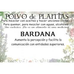 Polvo de Bardana