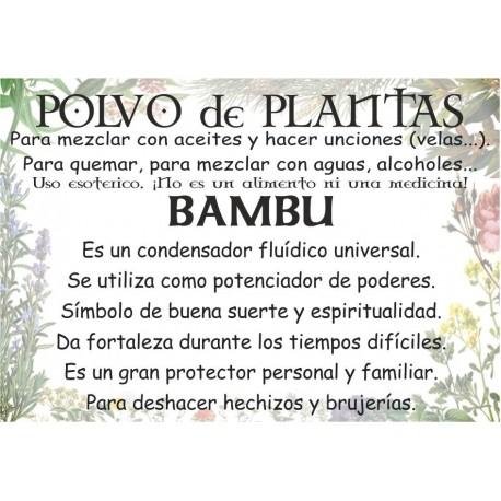 Polvo de Bambú