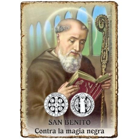 RITUAL 3 VELAS - Contra la MAGIA NEGRA - SAN BENITO