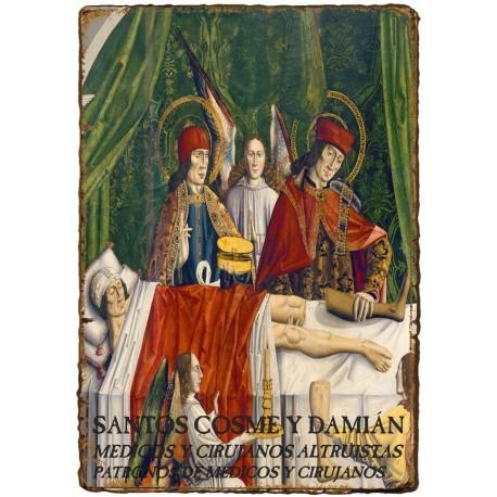 CAPILLITA - SALUD - SANTOS COSME y DAMIÁN