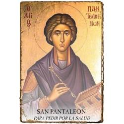 CAPILLITA - SALUD - SAN PANTALEÓN