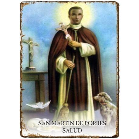 CAPILLITA - SALUD - SAN MARTÍN de PORRES