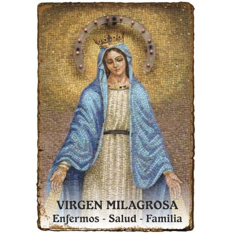 CAPILLITA - SALUD - VIRGEN MILAGROSA