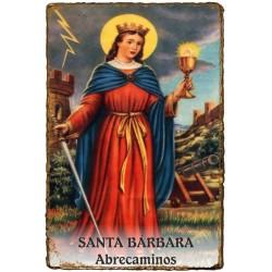 CAPILLITA - ABRECAMINOS - SANTA BARBARA