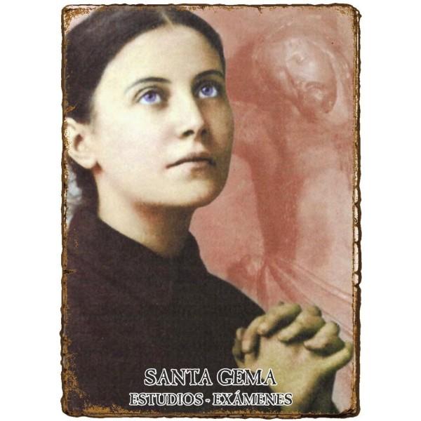CAPILLITA - ESTUDIOS MEMORIA - SANTA GEMA
