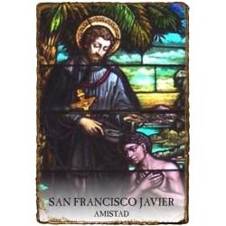 CAPILLITA - AMISTAD - SAN FRANCISCO JAVIER