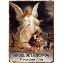 """CAPILLITA - PROTECCIÓN """"NIÑOS"""" - ÁNGEL de la GUARDA"""