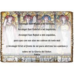 CAPILLITA - PROTECCIÓN PERSONAL - 4 ARCÁNGELES