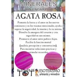 Mineral -*- AGATA ROSA