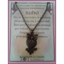 AMULETO BP - BUHO bronceado 01