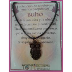 AMULETO BP - BUHO bronceado 03