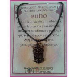 AMULETO BP - BUHO bronceado 04