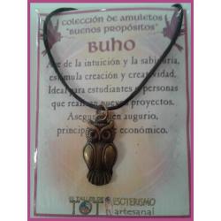 AMULETO BP - BUHO bronceado 05