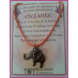 AMULETO BP - ELEFANTE bronceado 01