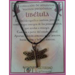 AMULETO BP - LIBÉLULA bronceado 02