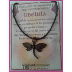 AMULETO BP - LIBÉLULA bronceado 03