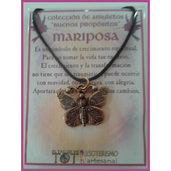 AMULETO BP - MARIPOSA bronceada 01