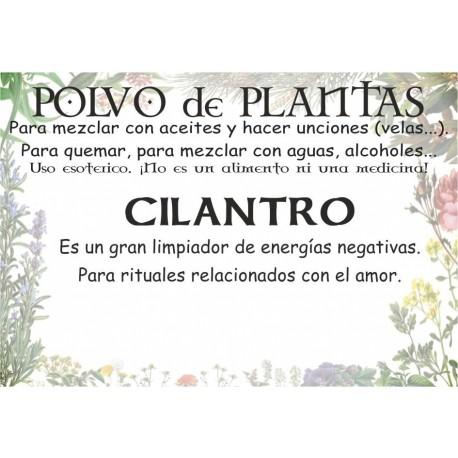 Polvo de Cilantro